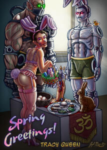 Spring Holiday Love Bunny